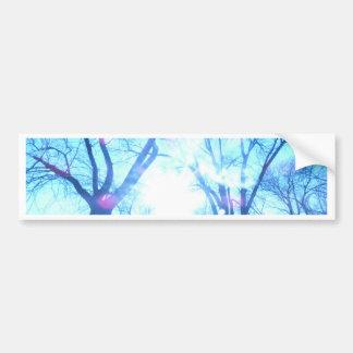 winter morning bumper sticker