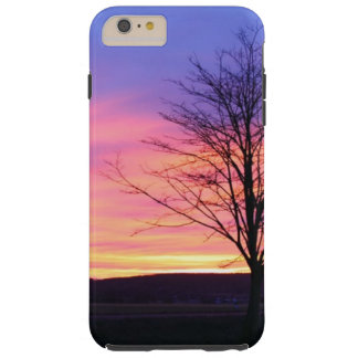 Winter Morning Sunrise Tough iPhone 6 Plus Case