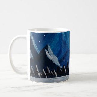 Winter Mountains Coffee Mug