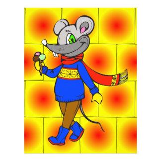 Winter Mouse 21.5 Cm X 28 Cm Flyer