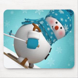 Winter Mouse pad/Snowman Mouse Mat