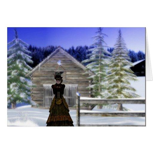 Winter Night Card