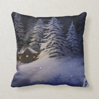 Winter Night Cushion