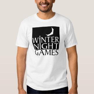 Winter Night Games logo Tee Shirt