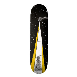 Winter Night Walk 21.3 Cm Mini Skateboard Deck