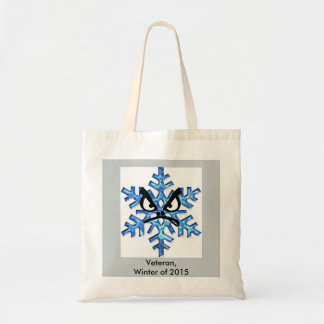 Winter of 2015 Survivors & Veterans Tote Bags