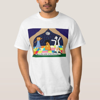 Winter of Disco Tent T-Shirt