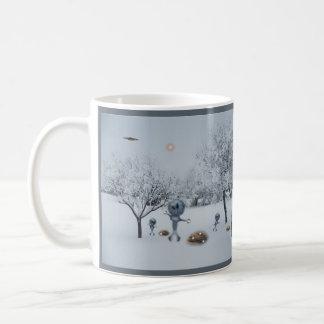 WINTER ON EARTH COFFEE MUG