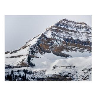 Winter on Mt Timpanogos - Sundance - Utah Postcard