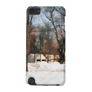 Winter on My Street iPod Touch (5th Generation) Cases