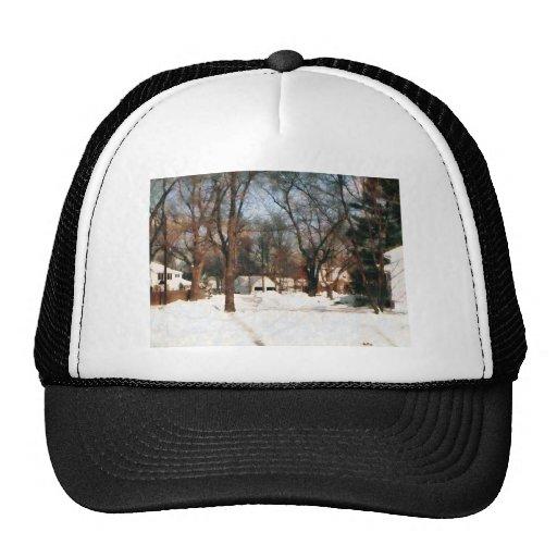 Winter on My Street Hat