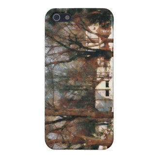 Winter on My Street iPhone 5 Covers
