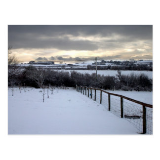 Winter on the North Yorkshire Moors Postcard