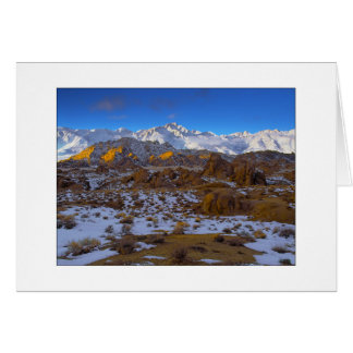 """Winter On Whitney"" Note Card"