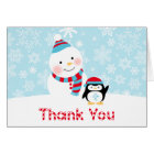 Winter ONEderland Birthday | Thank You Folded Card