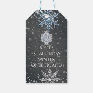 Winter ONEderland Chalk Blue Grey Custom Party