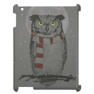 Winter owl iPad covers