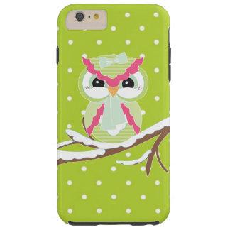 Winter owl iPhone 6 plus tough case