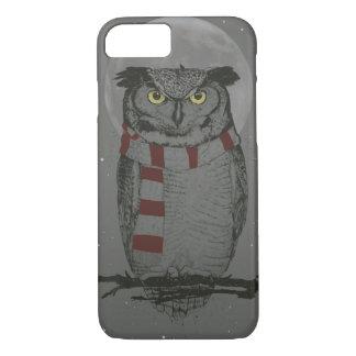 Winter owl iPhone 8/7 case