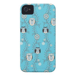 Winter Owls BlackBerry Bold Case-Mate Barely There