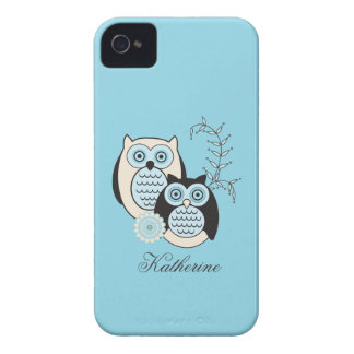 Winter Owls Case-Mate ID iPhone 4 Covers