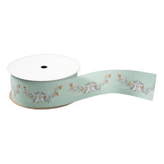 Winter Owls Grosgrain Ribbon