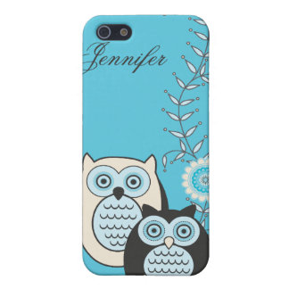 Winter Owls  iPhone 5/5S Case