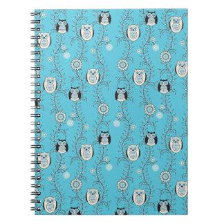 Winter Owls Notebook
