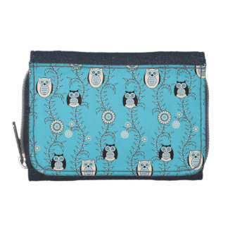 Winter Owls Wallet