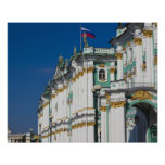 Winter Palace and Hermitage Museum Poster