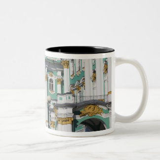 Winter Palace and Hermitage Museum Two-Tone Coffee Mug