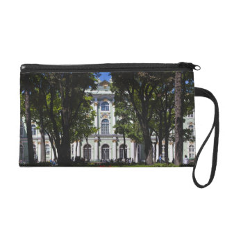 Winter Palace, Hermitage Museum, exterior Wristlet Clutch