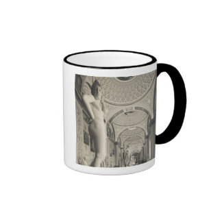 Winter Palace, Hermitage Museum, statue gallery 2 Ringer Coffee Mug
