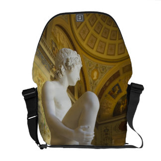 Winter Palace, Hermitage Museum, statue gallery Messenger Bags