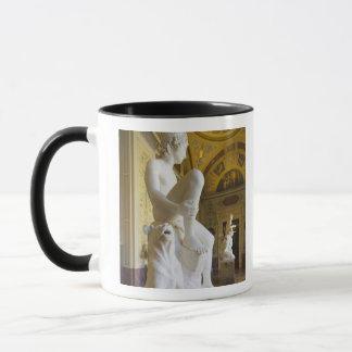 Winter Palace, Hermitage Museum, statue gallery Mug
