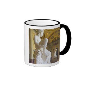 Winter Palace, Hermitage Museum, statue gallery Ringer Mug