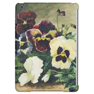 Winter Pansies, 1884 iPad Air Cases
