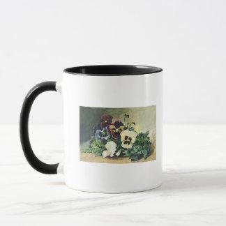 Winter Pansies, 1884 Mug