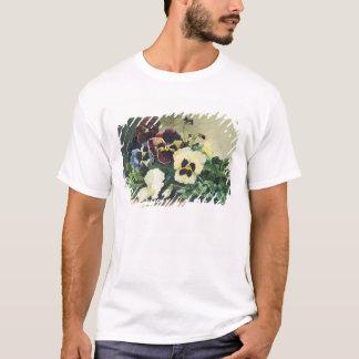 Winter Pansies, 1884 T-Shirt