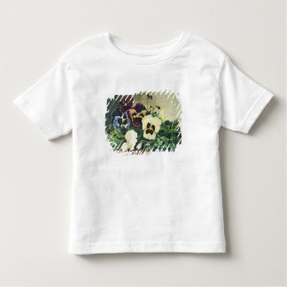Winter Pansies, 1884 Toddler T-Shirt