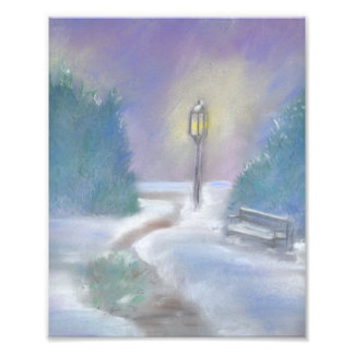 Winter Park Art Print Photograph