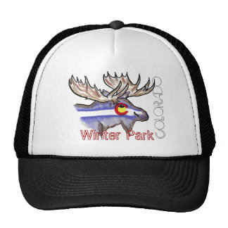 Winter Park Colorado elk hat