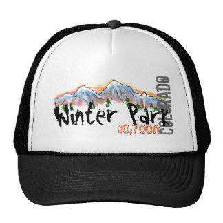 Winter Park Colorado mountain hat
