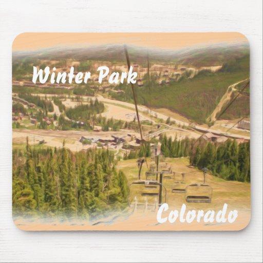 Winter Park Colorado mousepad