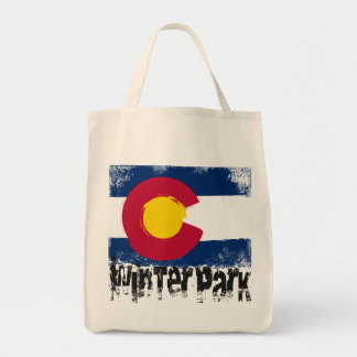 Winter Park Grunge Flag Tote Bag