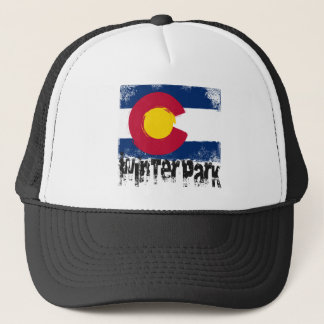 Winter Park Grunge Flag Trucker Hat