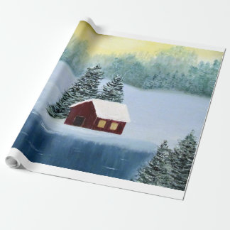 Winter Peace Wrapping Paper