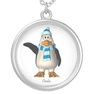Winter Penguin Necklace