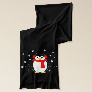 Winter Penguins Scarf