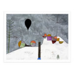 Winter Picture By Paul Klee Postcard